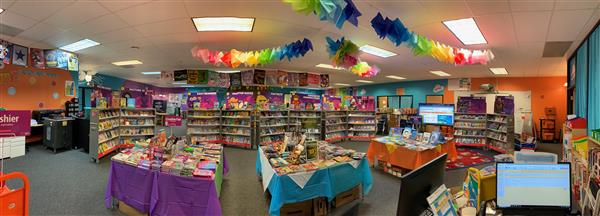 The Spring Book Fair at Baseline Academy in 2019