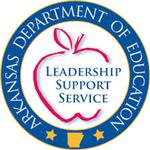 Arkansas Department of Education Logo with apple