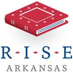 R.I.S.E. Logo with Red Book