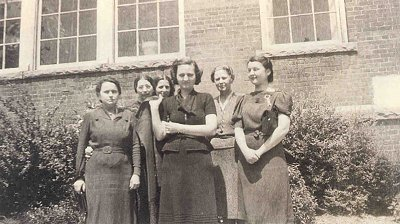 Staff members at Centennial Elementary, 1939. Photo courtesy of Kathleen Dewey.