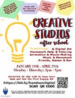Creative Studiosn fter School Flyer thumbnail