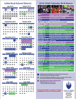 Little Rock School District Calendar 2021-22 Images