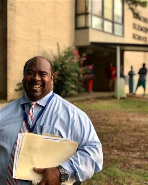 Principal Tyrone Harris