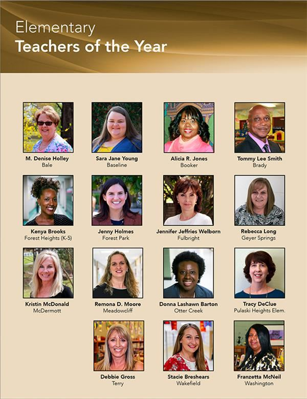 Teachers of the Year Pictures 2