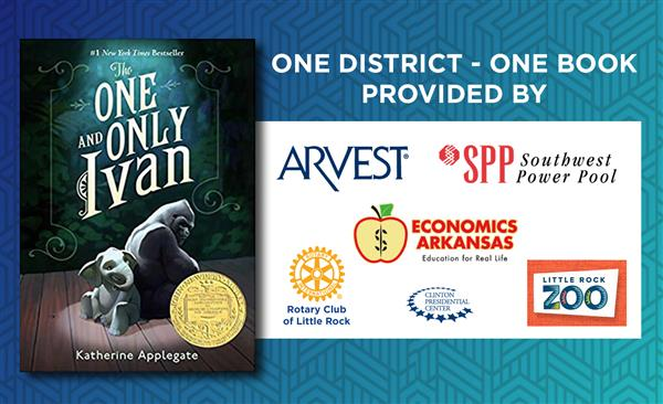 One and Only Ivan one district one book sponsors arvest southwest power pool economics arkansas rotary club of little rock cl